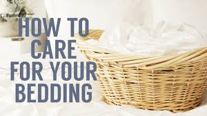 How To Wash Comforter How To Care For Your Bedding Youtube