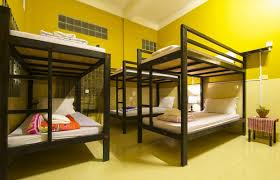 Dormitory Bunk Beds Cool Bunk Bed In Mixed Dormitory House Hostel