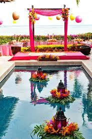 swimming pool wedding decoration ideas indoor swimming pool