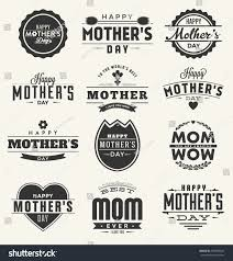 Mother S Day Designs Happy Mothers Day Design Collection Set Stock Vector 267089924