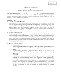 it support contract template with business agreement templates