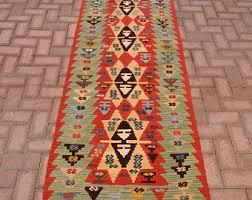 Colorful Aztec Rug Aztec Rug Runner Etsy