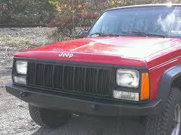 cherokee jeep xj jeep cherokee xj non winch bumper 84 01