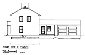 Colonial House Floor Plans by House Plans With A View Meadow View House Plan House Plans By
