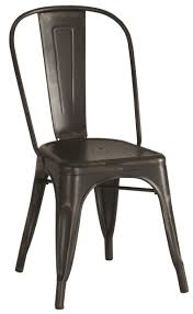 furniture blak iron dining chair with splat as well as restaurant