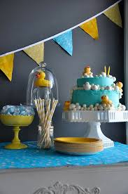 Yellow Duck Baby Shower Decorations Party Frosting Rubber Ducky Baby Shower Ideas Inspiration Cakes