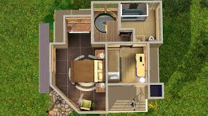 mod the sims tiny house series small family modern