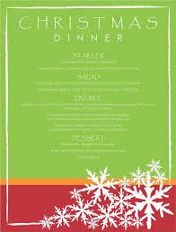 christmas menu template 32 free psd eps ai illustrator word