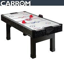 carrom air hockey table carrom 6 hydralumina air hockey table 752 59