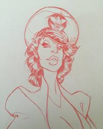 pin up bd comics sketch sketchbook pinup pinupart