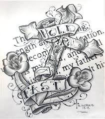 Love Anchors The Soulnautical Anchor - prints picture anchor nautical sea ocean roses cross scripture