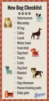 things you need for a new house new puppy checklist everything you need infographic dog and pup