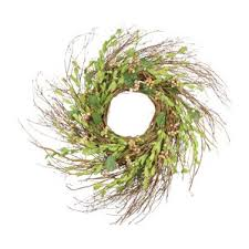 large outdoor grapevine wreath wayfair