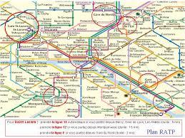 si e ratp plan du metro en zoom