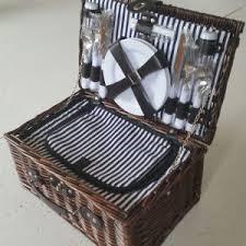 Picnic Basket Set For 4 Picnic Baskets Cobra Cane
