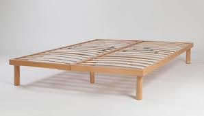 Slatted Bed Base Queen Dorsal Flexi Slat Frame Natural Beds