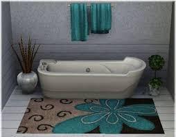 Brown And Blue Bathroom Rugs Bathroom Area Rugs 3 Brown And Blue Bathroom Rug With Bathroom