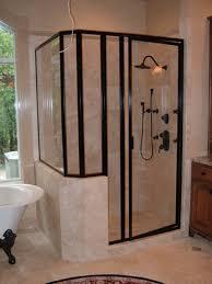 steel frame glass doors framed glass shower door christmas lights decoration