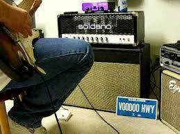 Soldano 2x12 Cabinet Soldano Slo And Weber Blue Dog Speakers 2 Strat Youtube