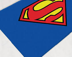Superhero Rug Superhero Bathroom Etsy