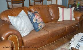 Paint On Leather Sofa Repairing And Refurbishing Leather Furniture Lilacs And