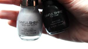 sinfulcolors sinful shine gel tech nail polish demo review youtube