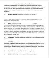sample letter of intent for promotion proposes letter of intent