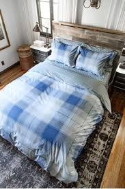 Duvet Cover Teal Go Plaid Blue Duvet Cover Thread Experiment
