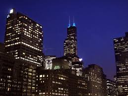 willis tower free stock photo image picture chicago night view