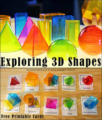 3 dimensional shapes activities u0026 printables every star is different