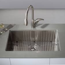 single kitchen sink sizes kraus khu100 30 professional stainless steel undermount single