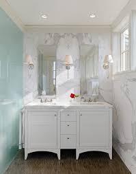 Recessed Bathroom Vanity by San Francisco 60 Bathroom Vanity Contemporary With Pendant Light