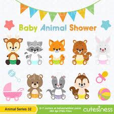 woodland creatures baby shower baby animal clipart baby shower clipart baby woodland