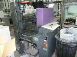 two colour used offset printing machines heidelberg qm 46 2 offset