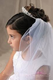 holy communion veils communion crown veil with synthetic crystals