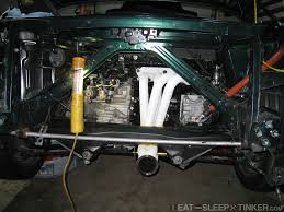 nissan titan long tube headers eat sleep tinker swain tech ceramic coated headers ppe long