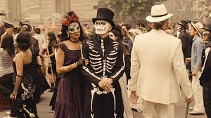 day of the dead costumes the day of the dead costume in spectre the suits of bond