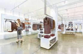 Boutique Shop Design Interior Architectural Rendering Illustration U0026 Design Services Award