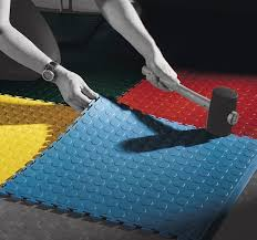 how to install rubber flooring the technology the proper tools