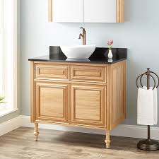 oak bathroom sink vanity signature hardware