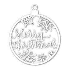 simon says st merry ornament wafer dies sssd111497 at