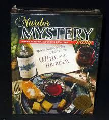 Murder Mystery Dinner Party Kit Bepuzzled Games A Taste For Wine U0026 Murder Rpg Dinner Party Murder