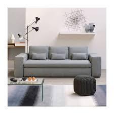 canapé 3 places blanc cyrus canapés canapé 3 places blanc noir tissu habitat