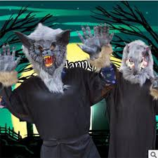 Realistic Halloween Costumes Aliexpress Com Buy Free Shipping 2017 New Wolf Mask Creepy
