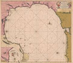 Florida Alabama Map by Mapping Texas 1695 Zee Fakkel Sea Torch Map Beyondbones