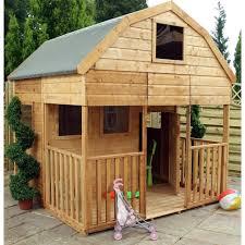 Wooden Backyard Playhouse Innovative Kids Outdoor Playhouse Decor Showcasing Exquisite Small