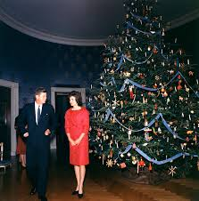 Navy Blue Christmas Tree Decorations by File 1962 White House Christmas Tree John And Jacqueline Kennedy