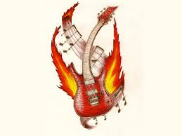 cool cartoon tattoos 9 cool guitar tattoos tattoo design ideas