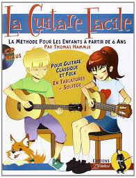 poster pour enfant amazon fr la guitare facile la méthode pour enfants à partir