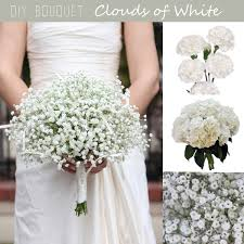 baby s breath bouquet diy bouquet white cloud baby s breath bouquet fiftyflowers the